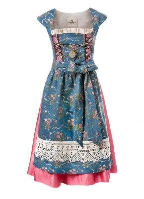 Dirndl Pergola bleu rose